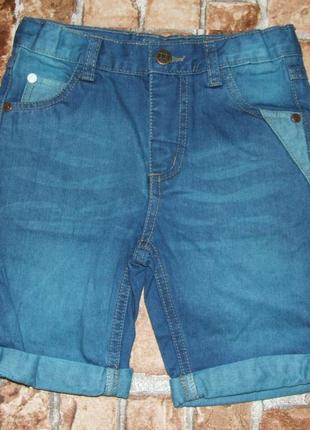 Новые джинсовые шорты 3-5 лет respect