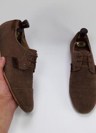 Zara man made in vietnam туфли туфлі размер 44 45