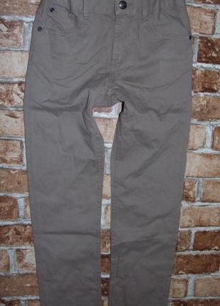 Новые штаны джинсы чиносы 8-9 лет h&m