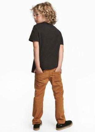 Новые джинсы чиносы 3-4 года h&m