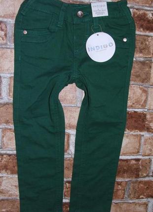 Новые джинсы узкачи мальчику 3-4 года marks & spencer