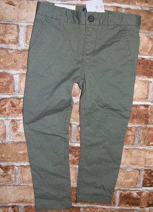 Новые штаны чиносы h&m 3-4 лет