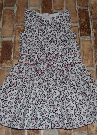 Нарядное пышное платье 3 года