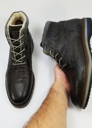 Frank walker made in india мужские ботинки на меху зима
