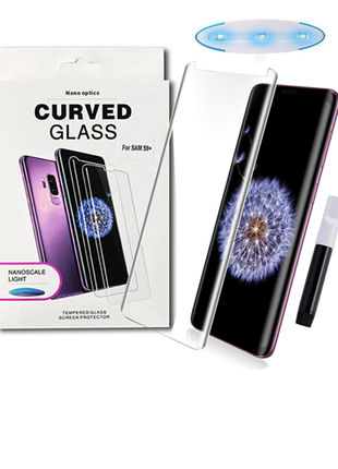 стекло Nano optics Curved Glass на весь экран для Samsung Galaxy