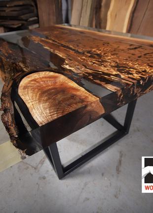 Столы на заказ, столы с эпоксидной смолой