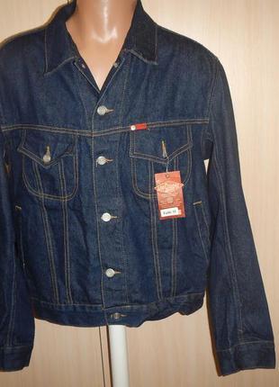 Новая оригинальная джинсовая куртка lee cooper р.м жакет пиджак