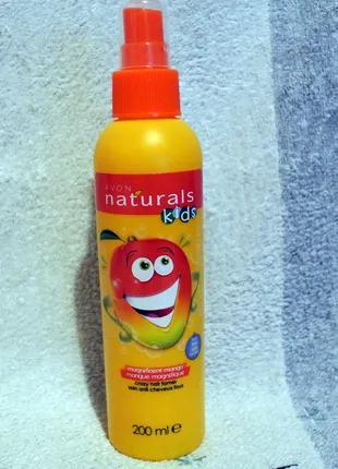 Спрей для облегчения расчесывания волос для детей игривое манго