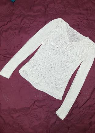 Вязанный свитер handmade