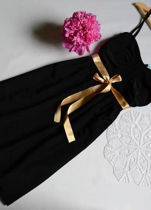 Плаття в чорне  even & odd на брительках