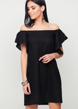 """Летнее легкое платье """"kair"""" черный"""