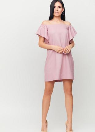 """Летнее легкое платье """"kair"""" розовый"""