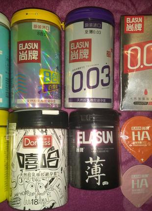 Презервативы ELASUN