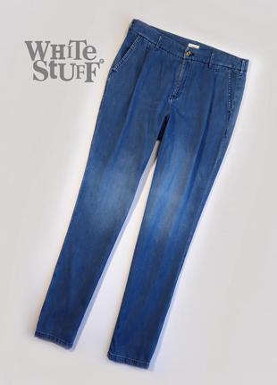 Тонкие джинсы  от британского бренда модной одежды  white stuff