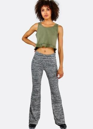 Брендовые женские серые брюки house вискоза этикетка