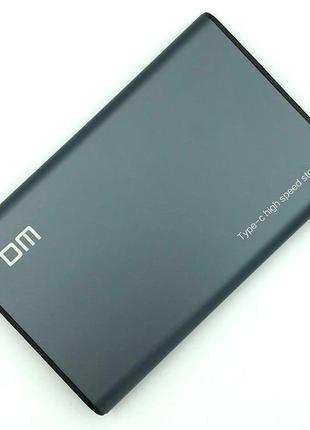 """Внешний карман для HDD 2.5"""" DM HD002 Type C Grey"""