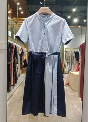 Оригинальное платье рубашка