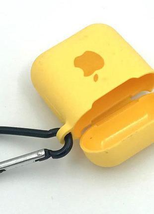Чехол Apple AirPods Yellow