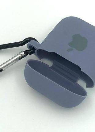 Чехол Apple AirPods Grey