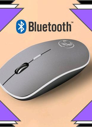Bluetooth мышь беспроводна  бесшумная компьютерная игровая USB