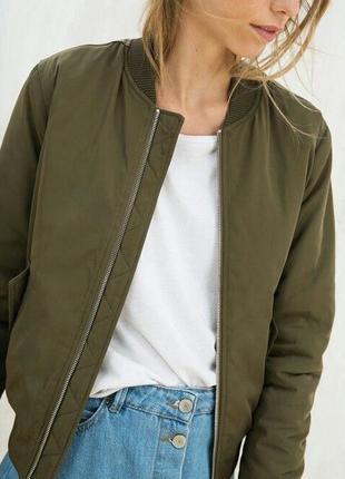 Женский бомбер куртка кофта жакет ветровка