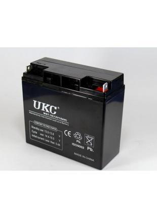 Гелевый аккумулятор UKC 12V 18Ah