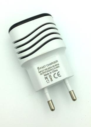 Адаптер питания / Сетевое зарядное устройство D13 Wave White