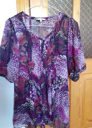 Блузка шифоновая! New Look!