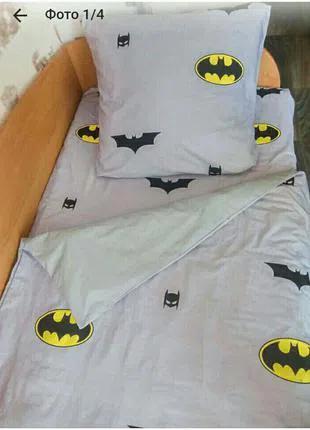 """Полуторный комплект постельного белья """"Бэтмэн"""""""