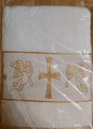 Крыжма для крещения (140×70)