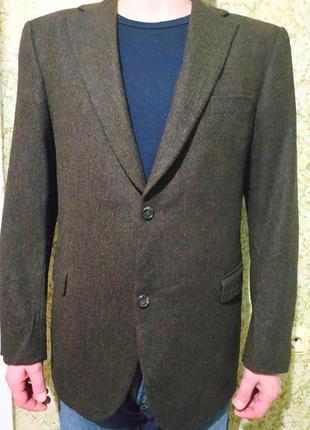 Шикарный брендовый #пиджак из чистой #шерсти #tommy hilfiger
