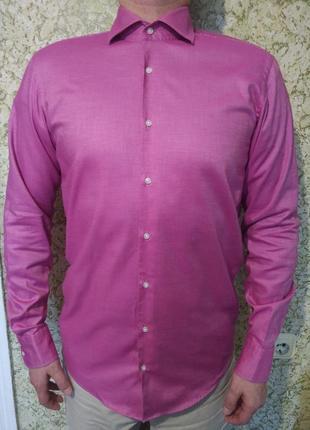 #hugo boss шикарная яркая мужская #рубашка