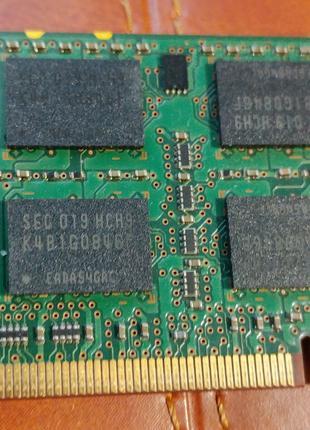 Память Samsung 2 GB SO-DIMM DDR3 1333 MHz (M471B5673FH0-CH9)