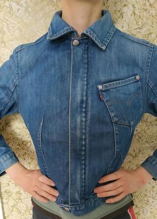 Levis крутая джинсовая куртка, жакет оригинал