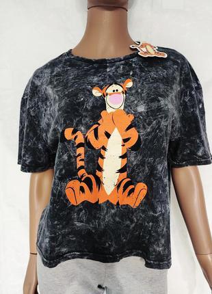 Супер стильная футболка с тигром, дисней