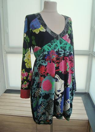 Desigual, оригинал, платье, размер L-XL.