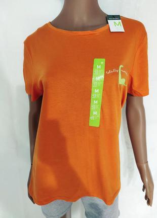 Яркая женская футболка, хлопковая футболка
