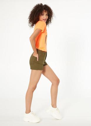 Джинсовые женские шорты jennyfer