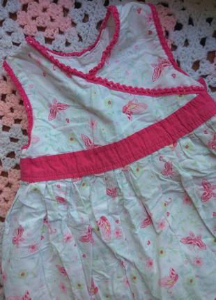 Летние платья из натуральной ткани . на 2-3года. много летних ...