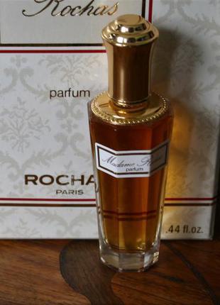 Редкость! чистые духи винтаж rochas madame rochas, 13 мл идеал...