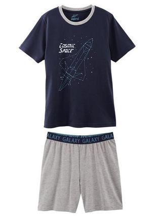 Пижама, костюм футболка и шорты 158-164 pepperts, германия