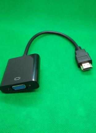 Переходник для видеокарты, активный, HDMI - VGA конвертер