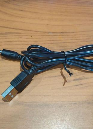 Кабель питания USB - DC 3,5мм