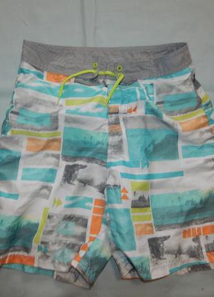 Шорты модные пляжные на подростка  13-14 лет 164 см