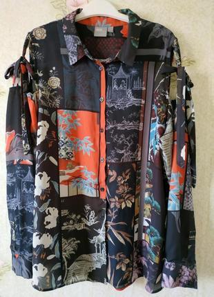 Стильная блузка с открытыми плечами asos