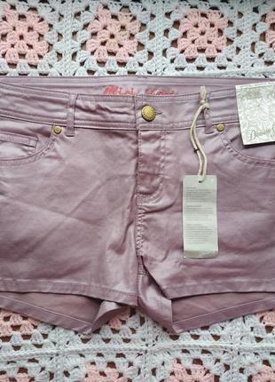 Новые джинсовые шорты с напылением denim co