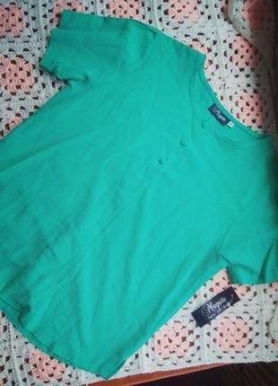 Новая блузка из натуральной ткани mageste 💯 котон
