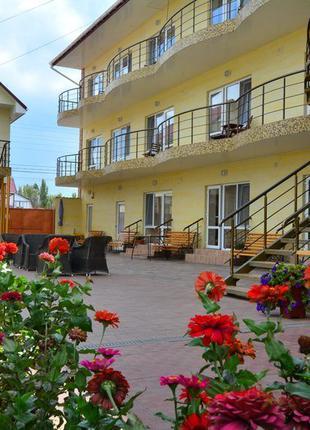 Семейный отдых на Черном море.Отель Адам и Ева.Затока-2020