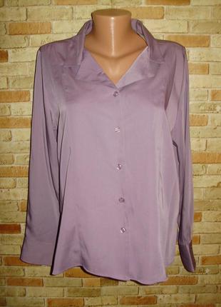 Новая блуза искусственный шелк 20/54-56 размера
