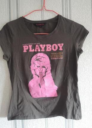 Шикарная футболка playboy